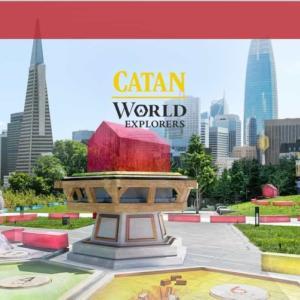 本物の地球がゲームボードに!「CATAN WORLD    EXPLORERS」