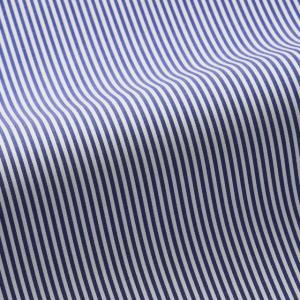 トーマスメイソンジャーニー(THOMASMASON JOURNEY) オーダーシャツ #38626 ブルーストライプ