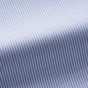 トーマスメイソンジャーニー(THOMASMASON JOURNEY) オーダーシャツ #38625 ブルーストライプ