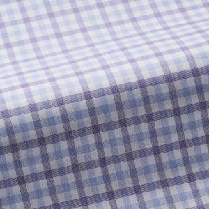 トーマスメイソンジャーニー(THOMASMASON JOURNEY) オーダーシャツ #38628 パープルチェック