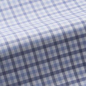 トーマスメイソンジャーニー(THOMASMASON JOURNEY) オーダーシャツ #38627 ブルーチェック