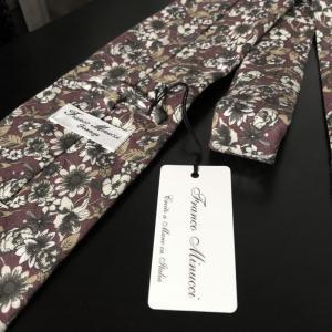FrancoMinucci(フランコミヌッチ)のネクタイを購入レビュー!
