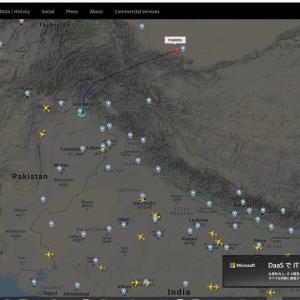 パキスタンのチャーター機飛び立ちました。