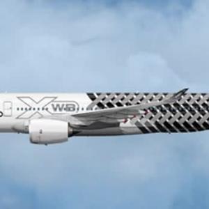 デルタ航空のエアバス新飛行機が成田に向かっています。