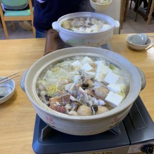 新年の食事会そして鍋を囲みながら