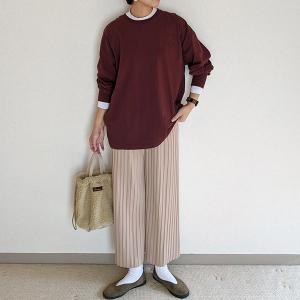 「ちょっとそこまで服」、色合わせでおしゃれ度アップ~ad thie(アドティエ)