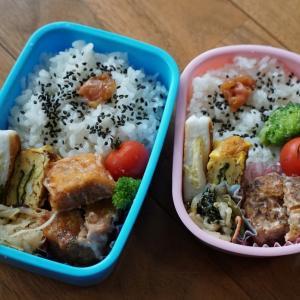お昼ご飯は手作り弁当で!お弁当生活続いています。