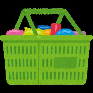 【レジ袋有料化】スーパーの買い物は折りたたみのカゴが使いやすい!!