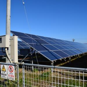 太陽光発電への新規投資