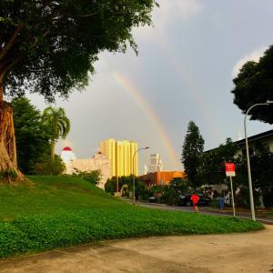 天気を操る?シンガポール…恐ろく素晴らしい