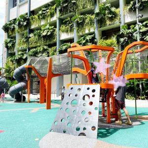 パヤレバー散策、駅近のプレグラ!Paya lebar parkside Playground