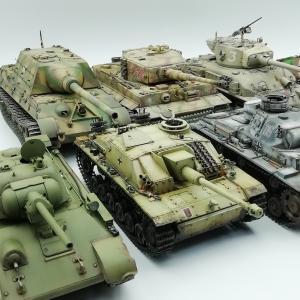 迷った時はコレ! タミヤ おすすめ戦車模型3選