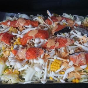 鮭のちゃんちゃん焼き・キッチンのリフォーム