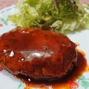 ☆煮込みチキンハンバーグ
