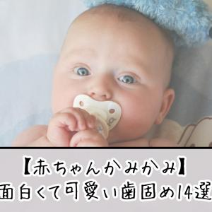 【赤ちゃんかみかみ】完全インスタ映え!!人気な面白い歯固め14選!!