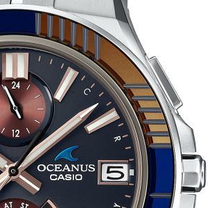 CASIOオシアヌス、サファイヤガラスの美しい腕時計 +40's Door(40代の扉)