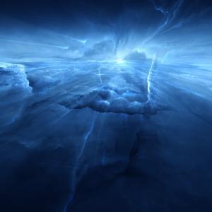 ネプチューンの空のスマホ壁紙