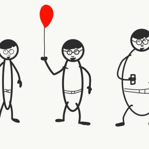 体型って人それぞれ。