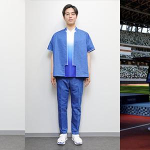 オリンピック表彰式の衣装