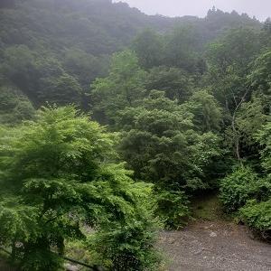 解禁 群馬 上野村 竜神の滝キャンプ場④