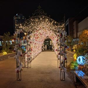 11月26日からエイスクエアにてクリスマスイルミネーション「光のトンネル」が開催! / 草津市