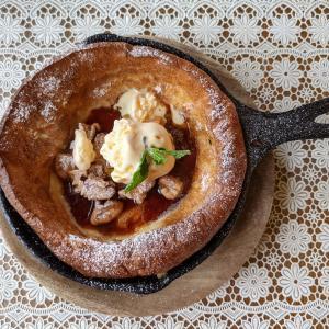 『Cafe je jardin』でドイツのパンケーキ「ダッチベイビー」を食べてきました / 守山市