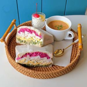 4/8にOPENしたカフェ『ラメリストア』でモーニングがスタートしたので食べてきました / 大津市