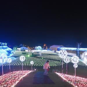 10/8から関西最大級のイルミ『ローザンイルミ2021』が開催されます。昨年の様子をご紹介!今年は新スポットも / 米原市