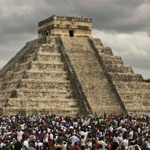 【衝撃】マヤ文明の巨大建造物を発見!!~~~~~。