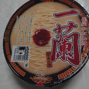 一蘭のカップ麺!