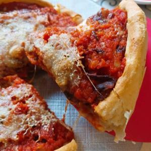 シカゴスタイルピザ