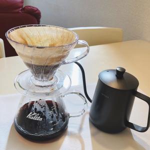 自宅でハンドドリップコーヒー
