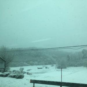 中国山地は大雪です 松江自動車道は通行止め