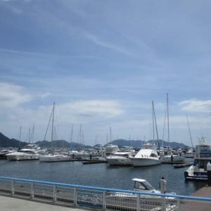 海辺のイタリアレストラン「マリーナMARIOエスプレッソ」でランチ!ヨットハーバーで過ごす夏休みの1日