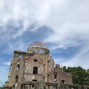 人出が増えてきました・・・広島・平和公園、原爆ドームにも多くの観光客が来訪 新型コロナウイルスには引き続き警戒です