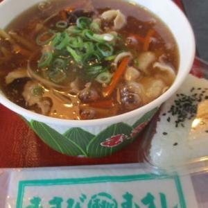むすびのむさし三滝店・・・元気うどんと銀むすびをいただきました 広島うどんとむすびの老舗です