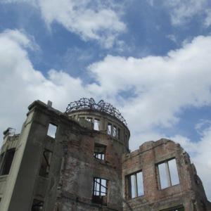 8月6日、広島原爆の日・・・黙とうと祈りの1日・・・核爆弾が地球上からなくなるを祈りながら・・・