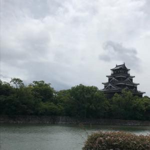 広島城を朝散歩・・・パワースポットで元気とエネルギーをいただきました