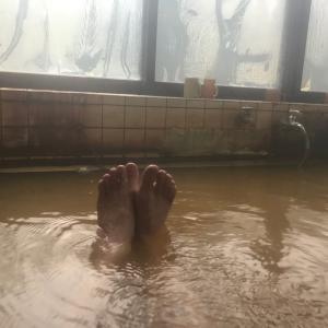 217)_コロナ自粛の中、鹿児島の温泉でストレス発散(°▽°) 『小平温泉』