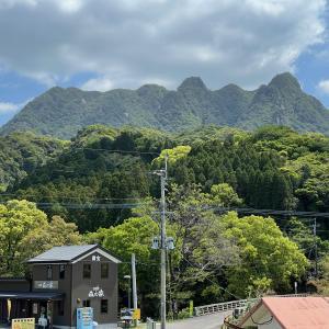 484)_鹿児島刀剣山は7つのピークよりなる山です(^。^)