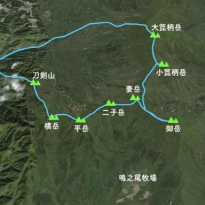 503)_鹿児島大隅半島 刀剣山から高隈山縦走コース( ^ω^ )