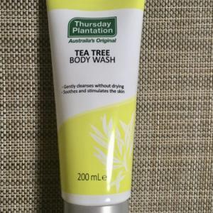 オーストラリアコスメThursday Plantation「TEA TREE BODY WASH」口コミ 究極の保湿コスメの旅vol.6