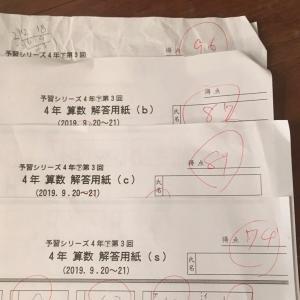 週テスト4年生㊦第2回【反省と今後の目標】