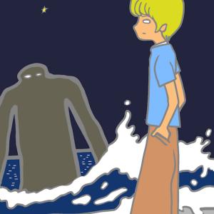 海から来た巨人