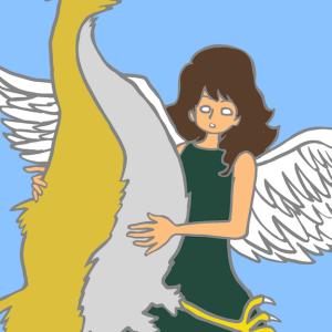 翼のある少女と翼のない鳥