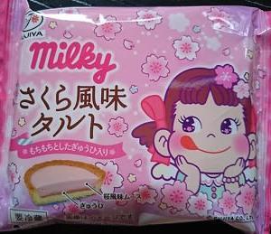 ミルキィは桜味~なタルト