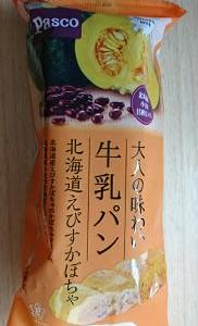 パスコ 北海道えびすかぼちゃ大人の味わい牛乳パン