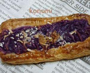 紫いものスイートポテトパン