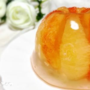 水信玄餅みたい!!ふるっふるグレープフルーツゼリーとグレープフルーツの上手なむき方