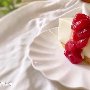 口どけなめらか~とろける生レアチーズケーキ!ゼラチンなしで混ぜるだけ!